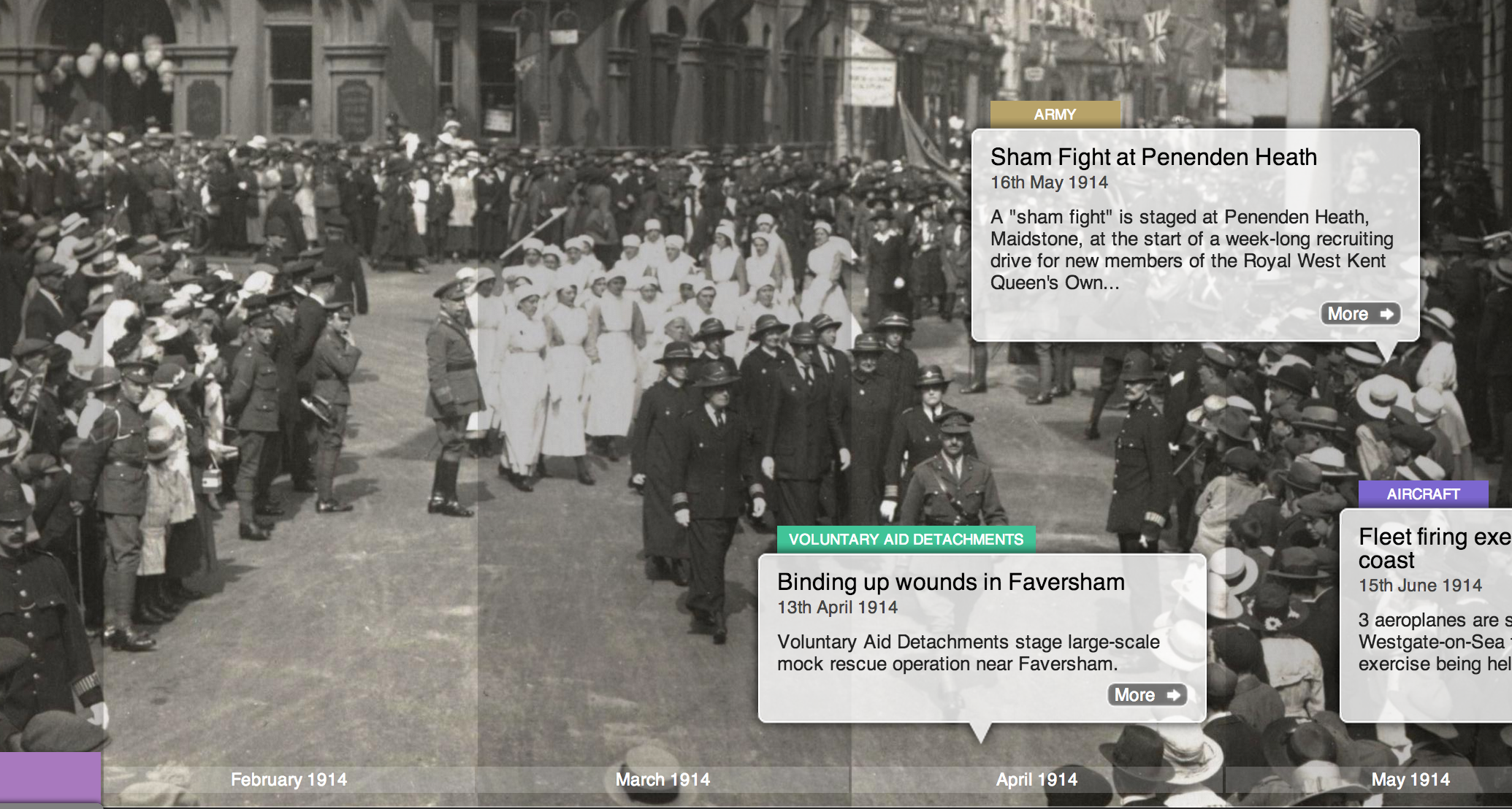 Time Spiral reveals Kent's role in WW1