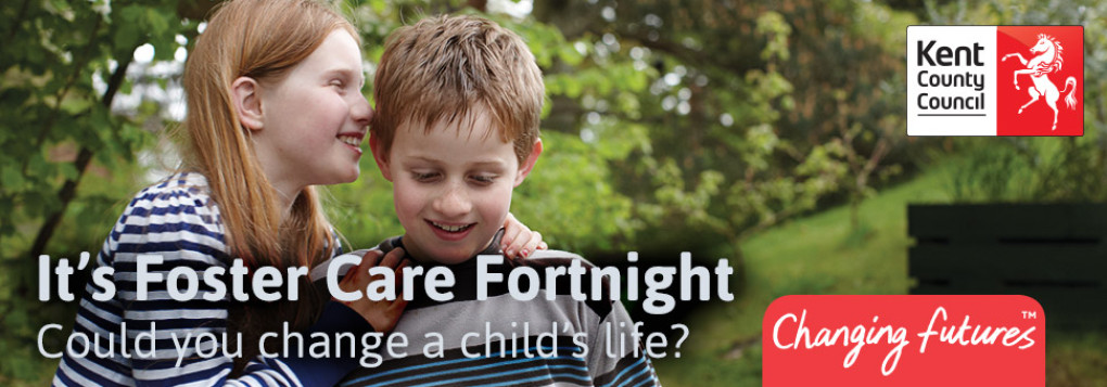Could you offer a loving foster home to children in Kent