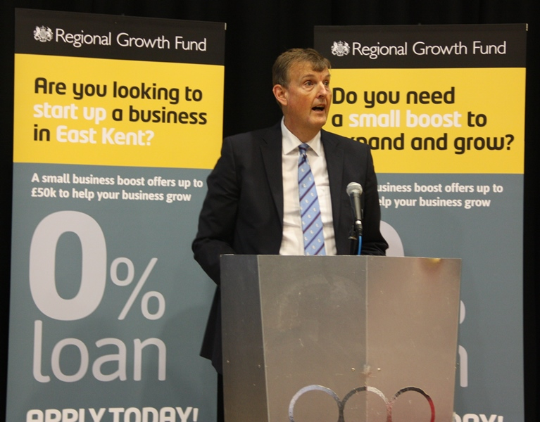 East Kent's small businesses can now apply for interest-free loans