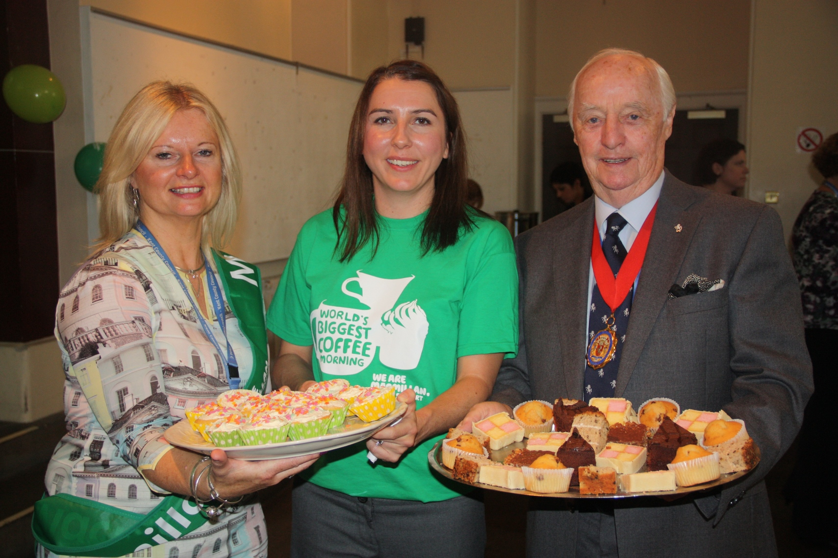 KCC takes part in world's biggest coffee morning