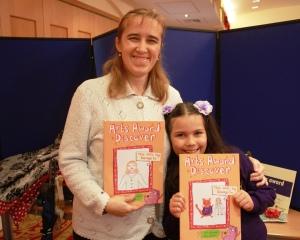 Masha Novikova, eight, and her mum Galina.