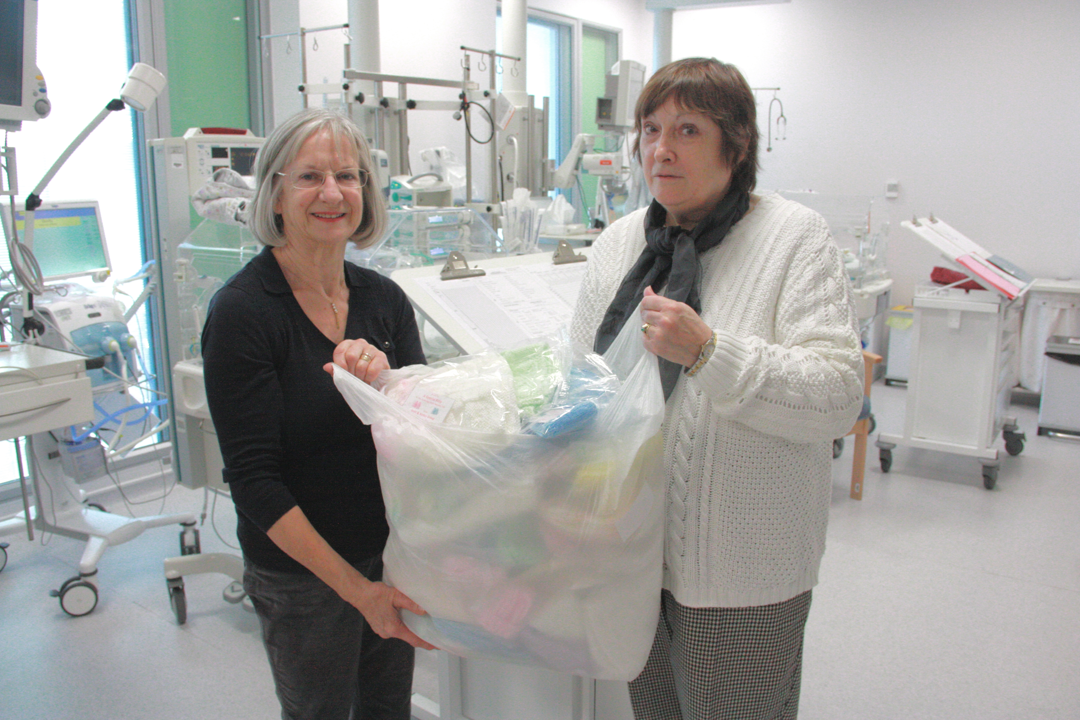 Nifty knitters get purling for premature babies