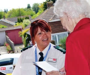 Kent County Council's Community Warden Service was established in 2002