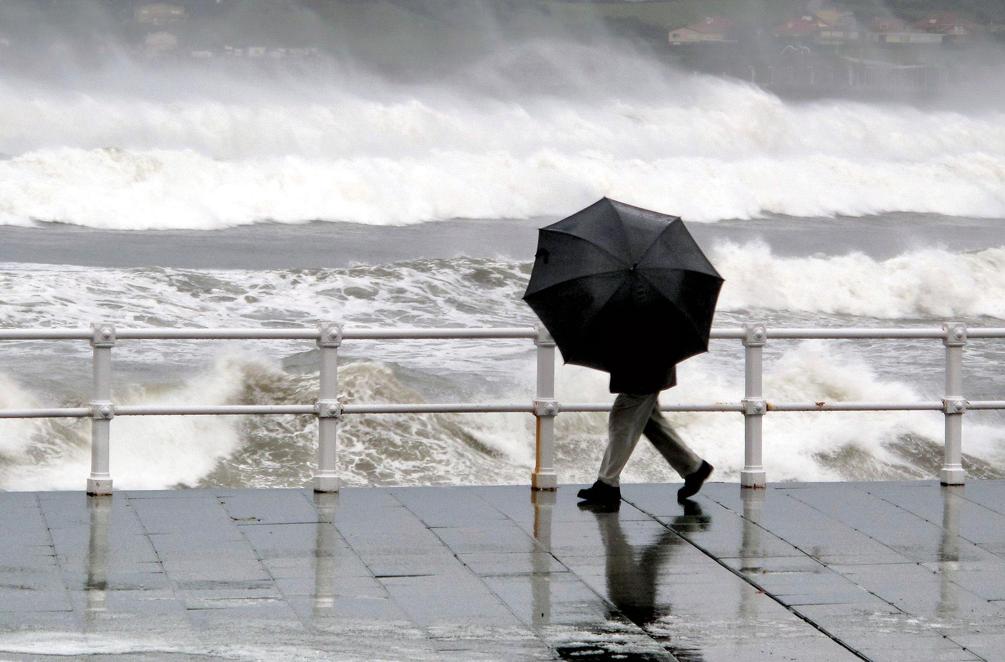 Flood rain umbrella winter - KCC Media Hub