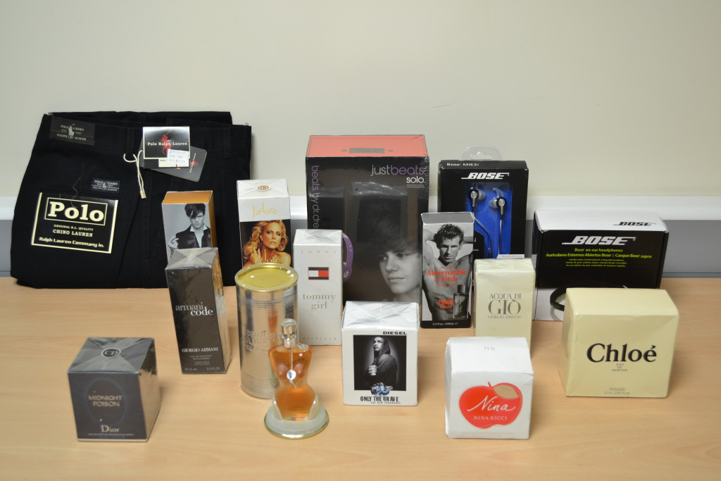 A man selling fake perfumes, pocketing over £120,000, has been jailed for 16 months.