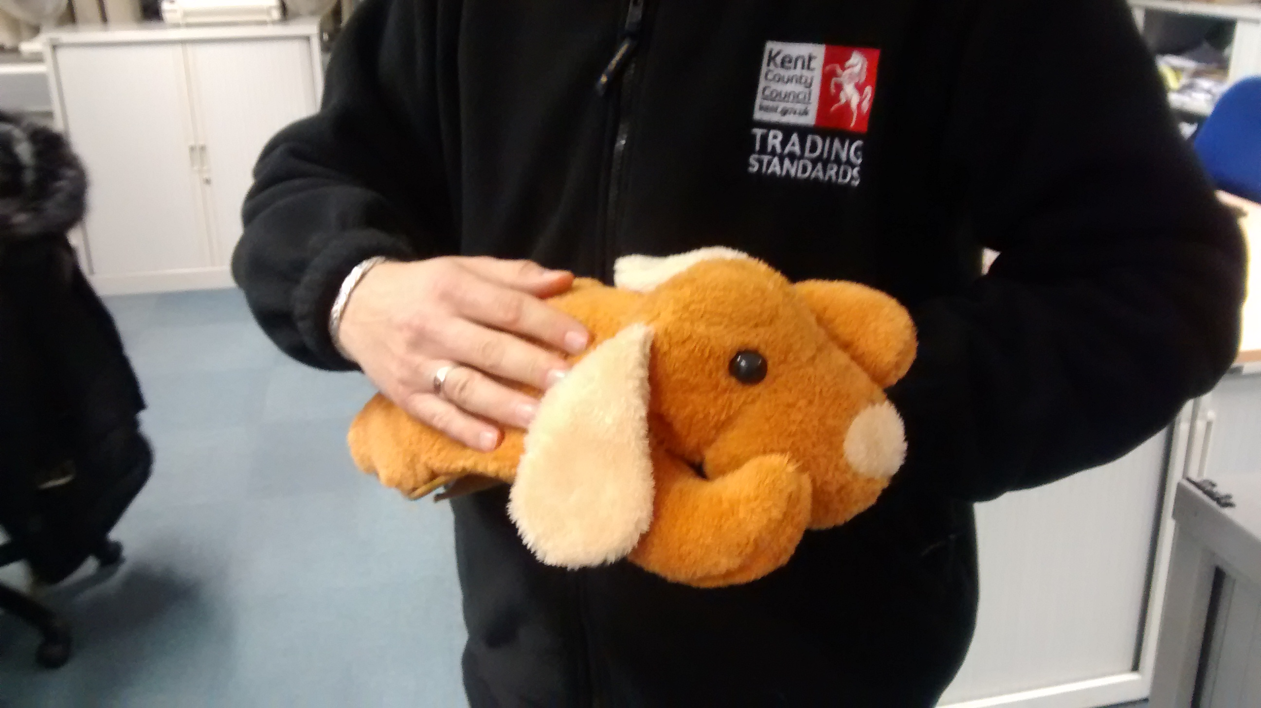 Lethal hot water bottles seized by Trading Standards