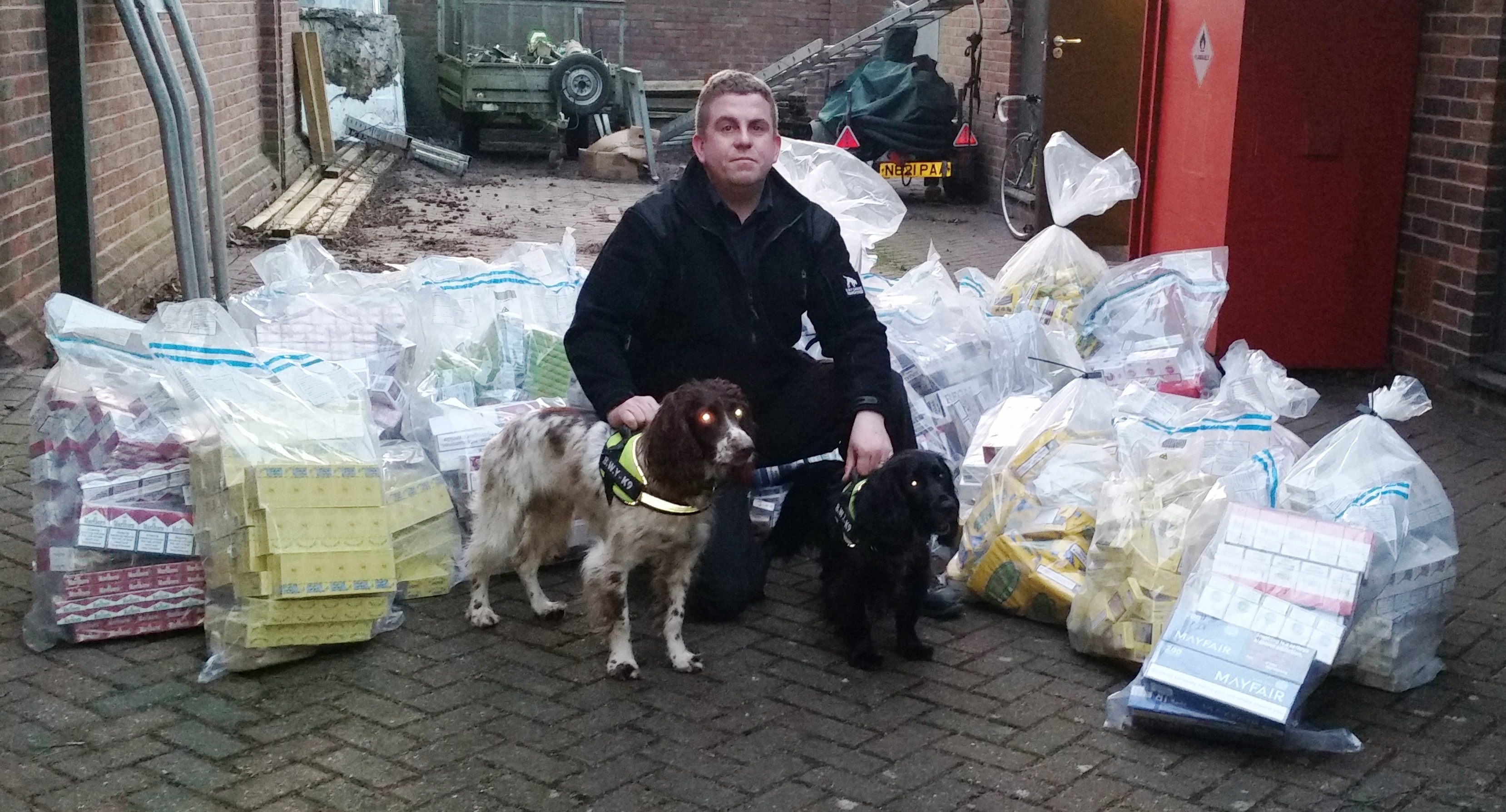£75,000 of illegal tobacco seized by KCC Trading Standards