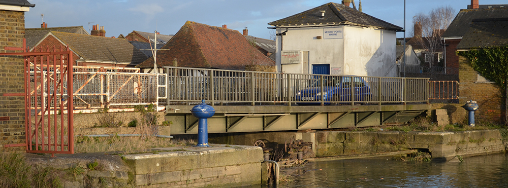 Temporary bridge to be installed at Faversham Creek