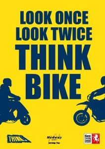 Think once, think twice - think bike