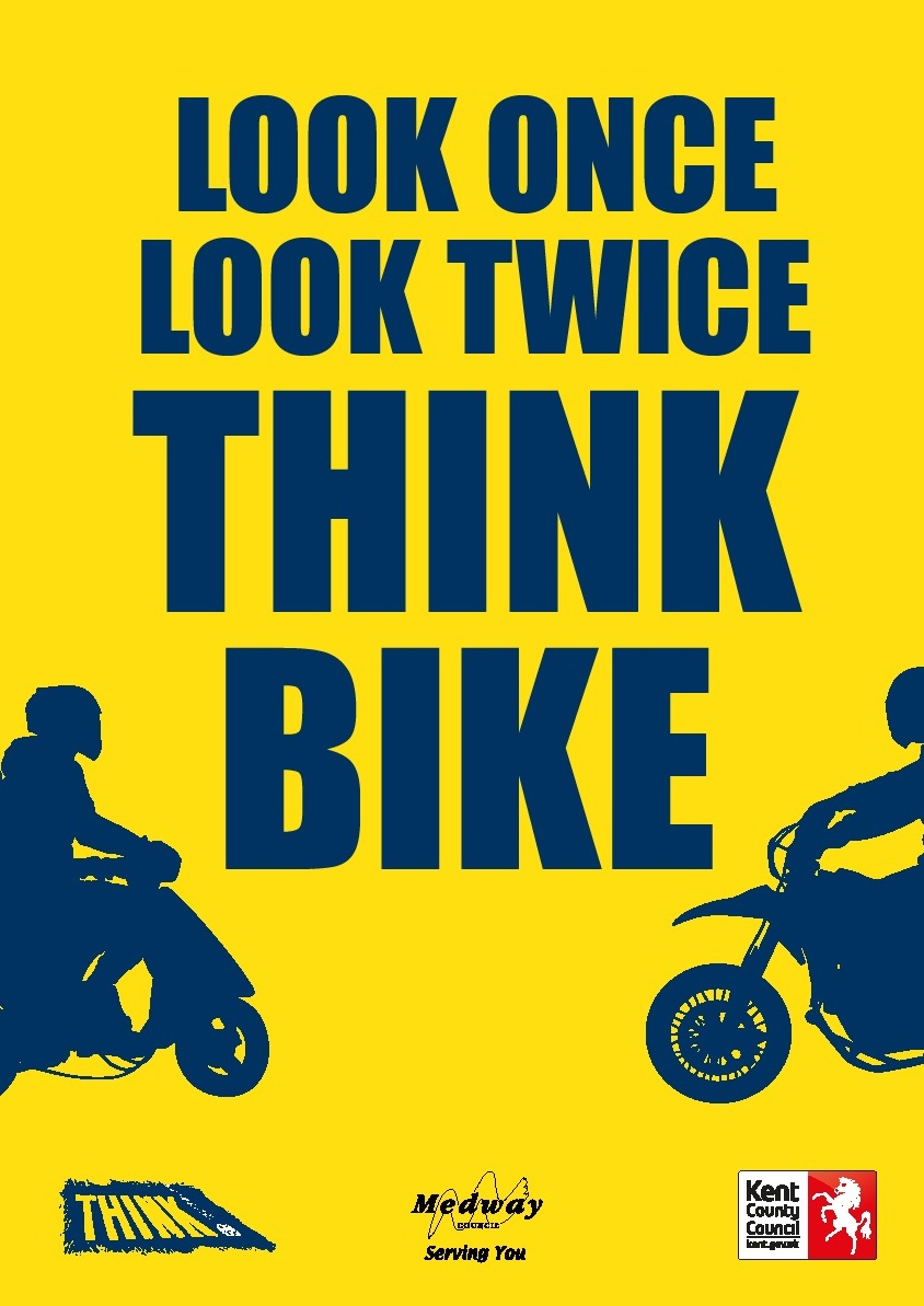 Look Once, Look Twice ... Think Cyclist  and Think Bike