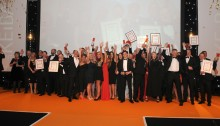 The KEiBA award night last year at Detling.