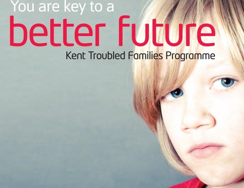 Praise for Kent's success for Troubled Families programme