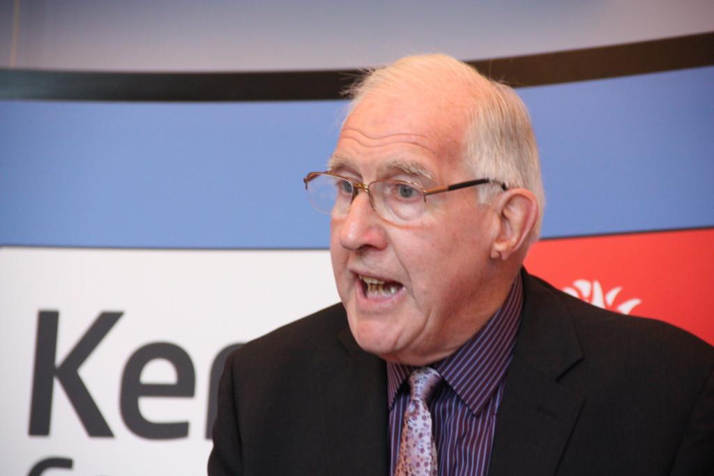 KCC cabinet member for finance John Simmonds