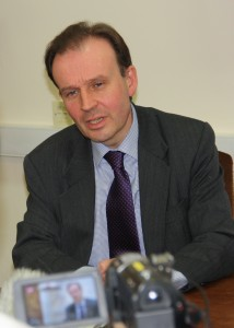Cllr Roger Gough, cabinet member for education