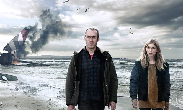 The Tunnel Sabotage Stephen Dillane and Clémence Poésy © Sky Kudos CANAL+