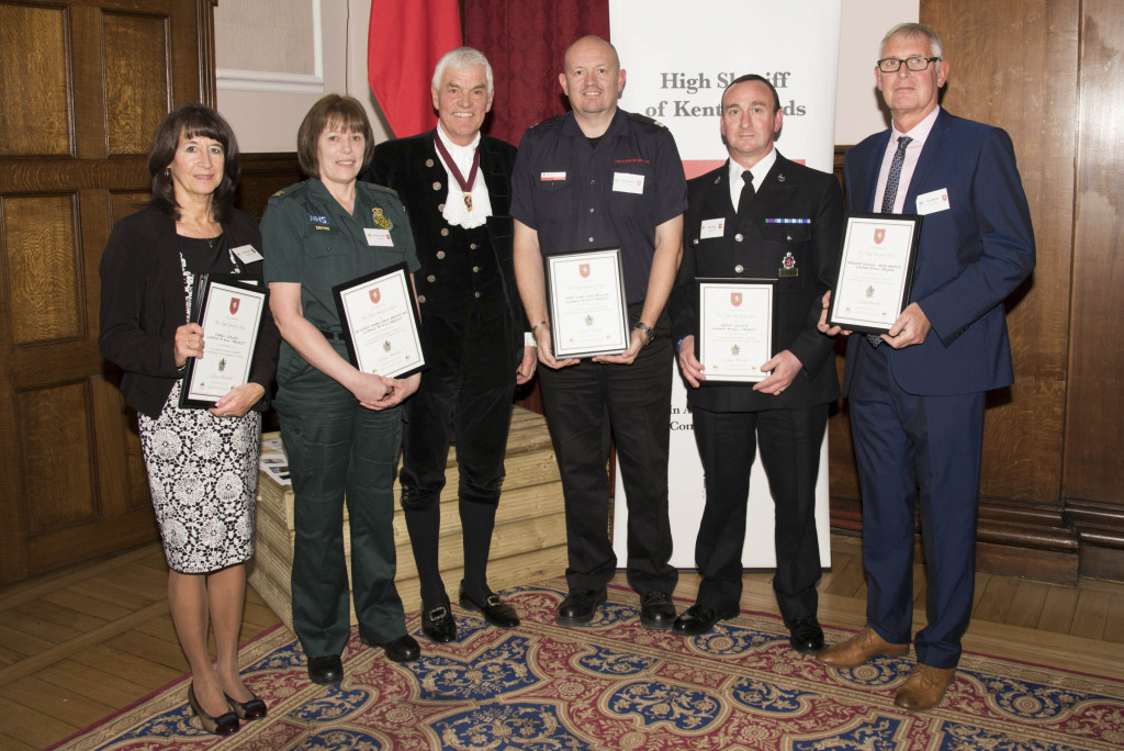 Representatives from the organising team of 'Licence to Kill?' were presented with a High Sheriff Award in a ceremony on Thursday 10 March.