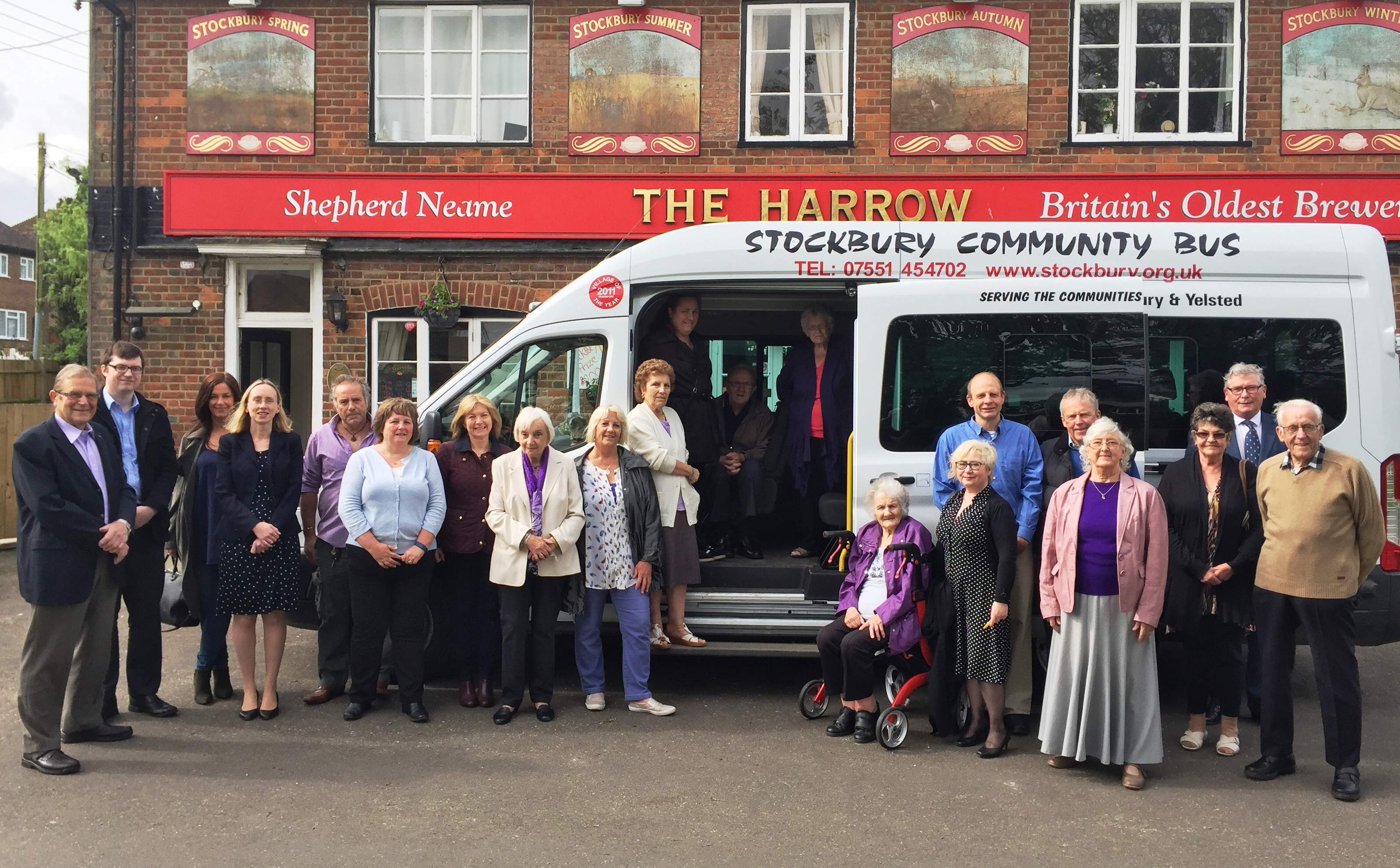 Launch of new Stockbury community bus service