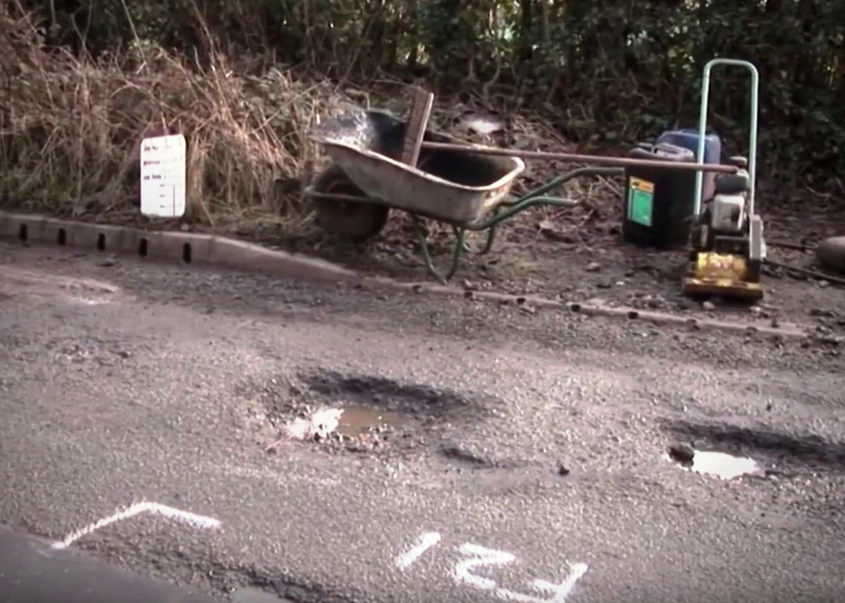 KCC declares war on potholes