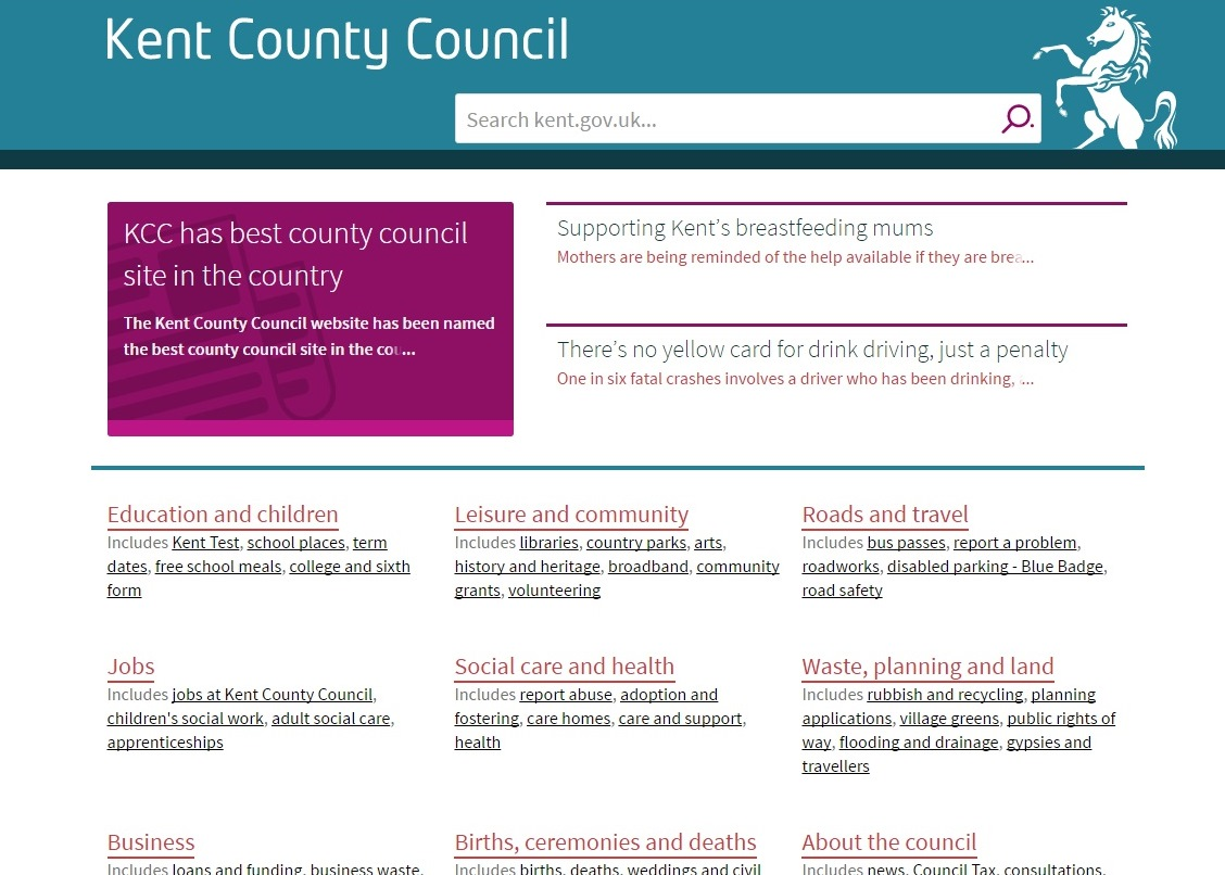 kcc has best county council site in the country kcc media hub untitled