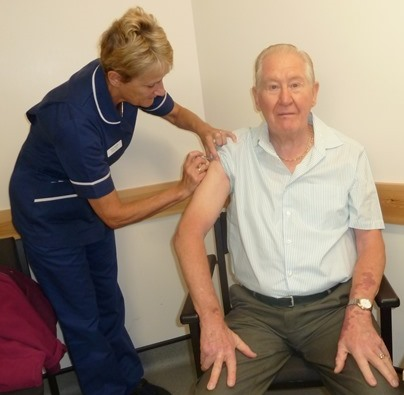 Pensioners urged to protect themselves and get the flu vaccine