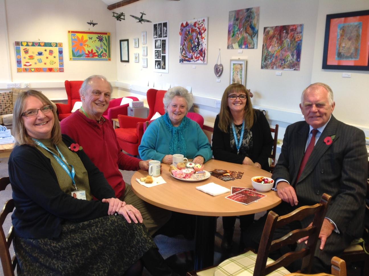 Bigger premises for the Alzheimer's Society in Maidstone