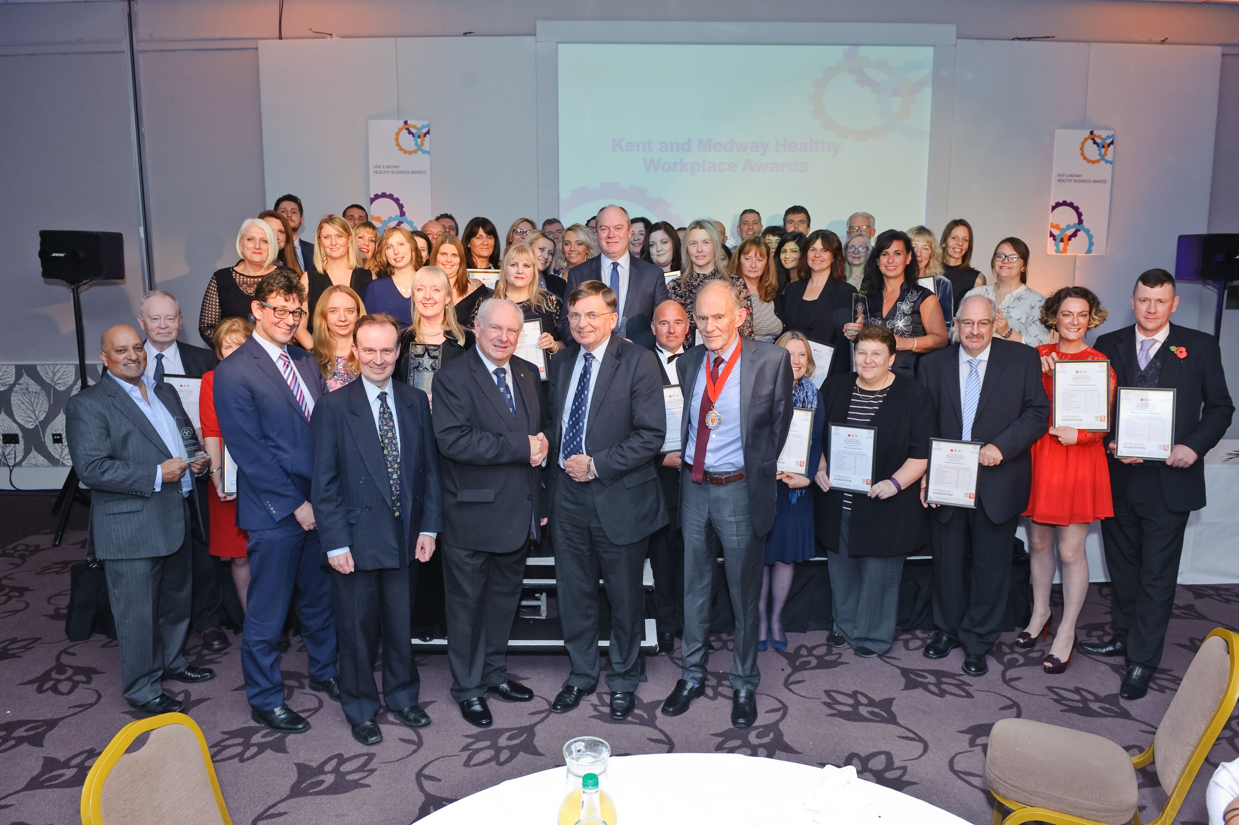 Healthy staff and businesses across Kent and Medway win awards
