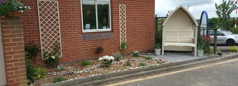 Welcoming gardens for Thanet's Pilgrims Hospice
