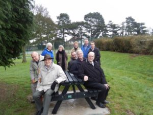 New picnic benches for the friends of south park