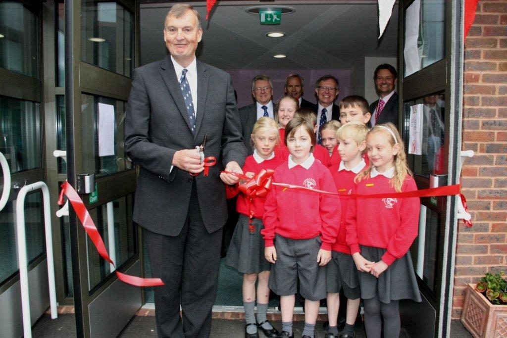 KCC Leader Paul Carter opens new £2.37 million extension to St John's C of E Primary School in Maidstone.