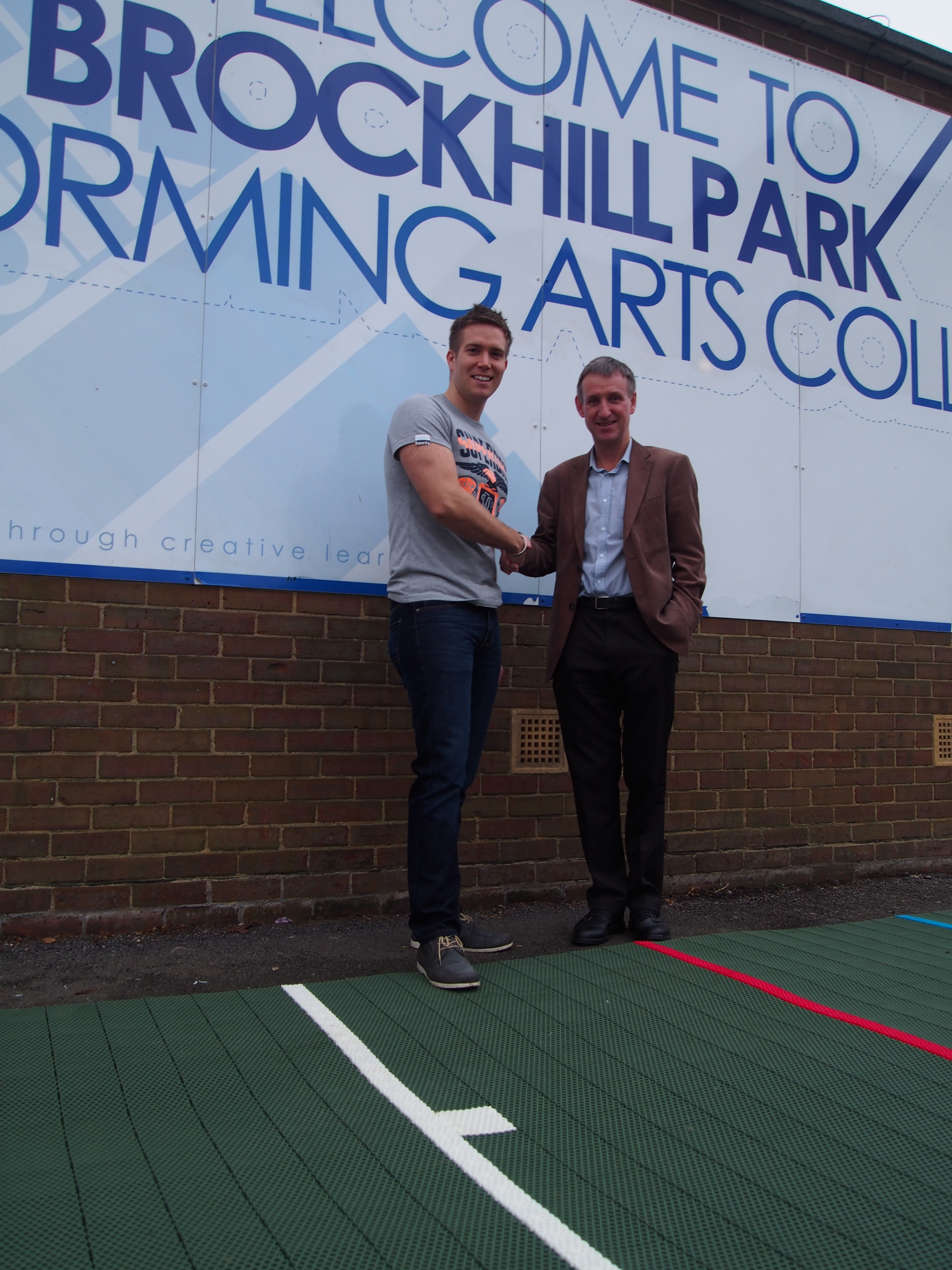 New Cricket Pitch for Brockhill Performing Arts College