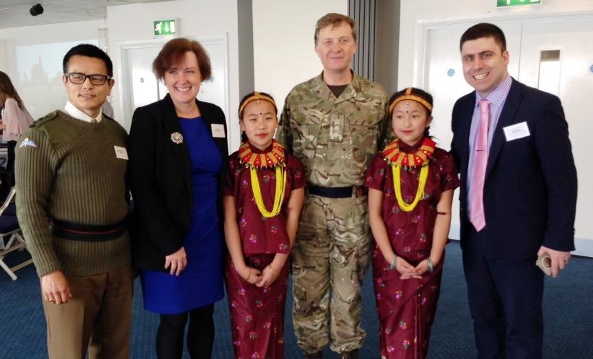 Kent continues to support the military