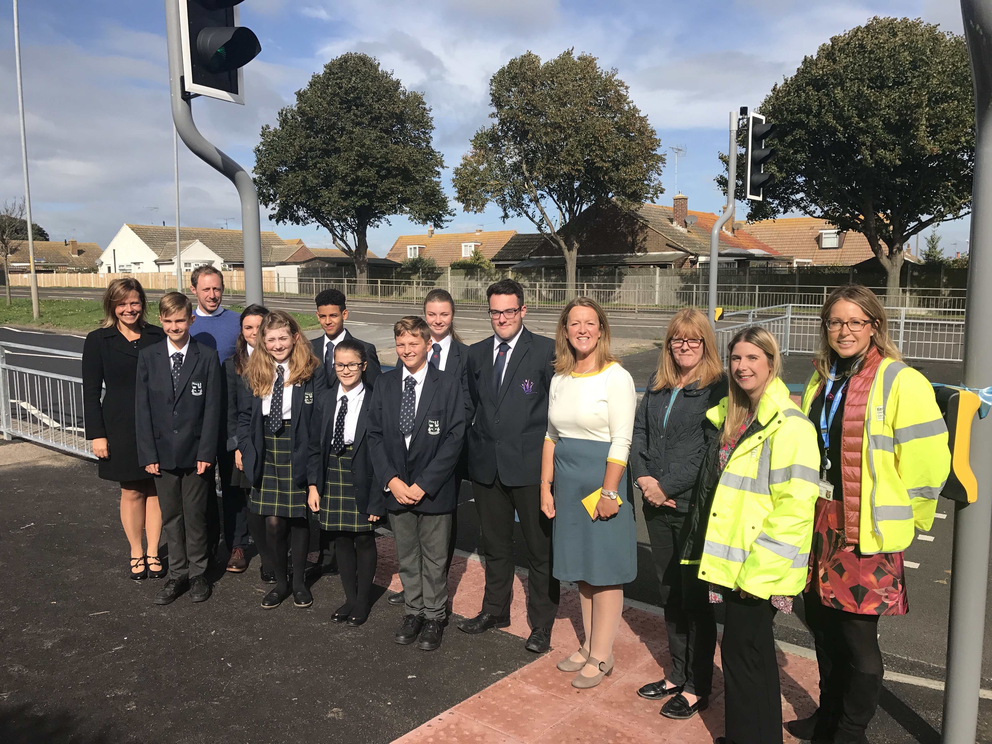 Puffin Crossing to improve school safety in Birchington