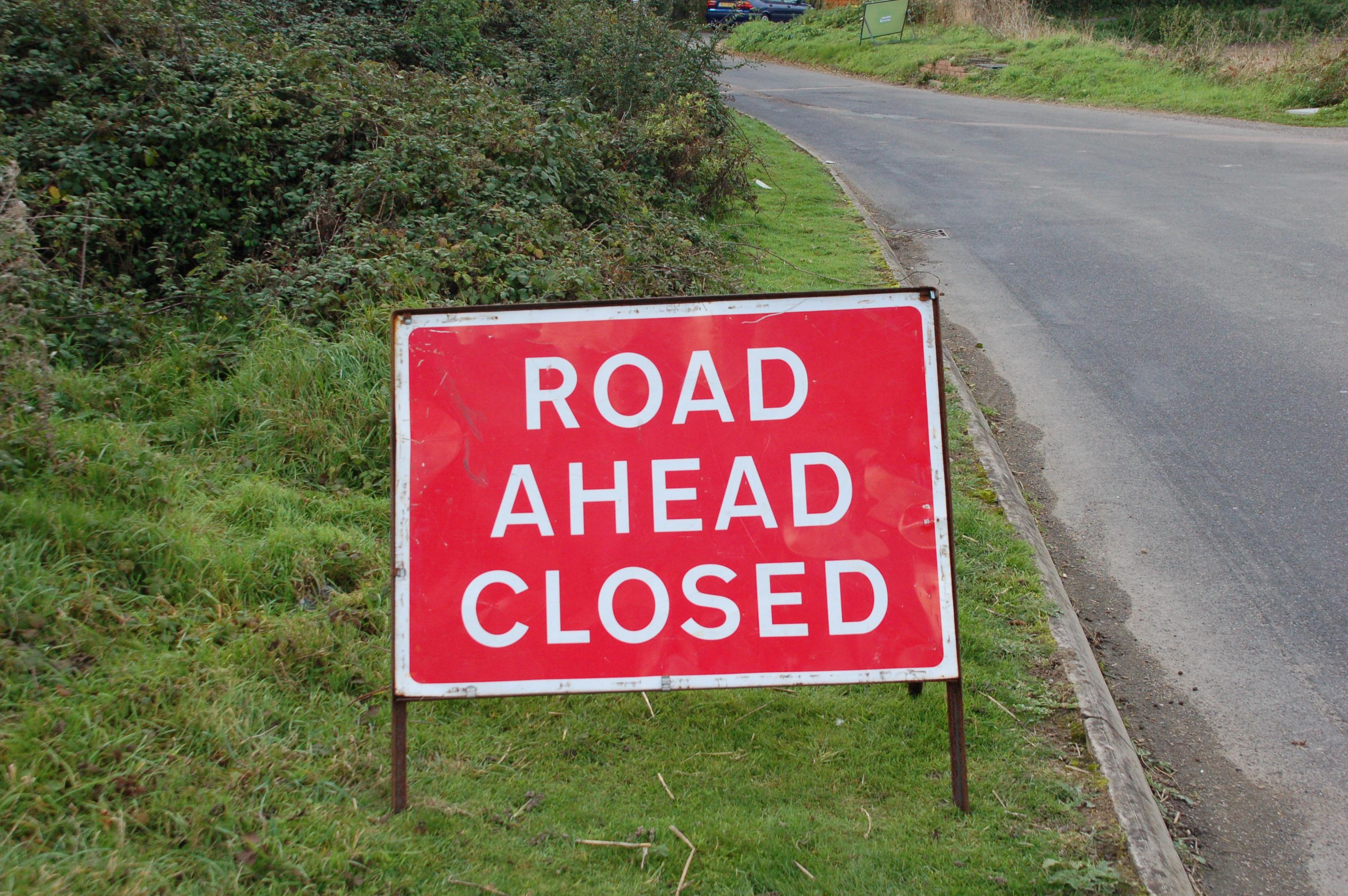 KCC Highways is closing Tonbridge Road in Pembury