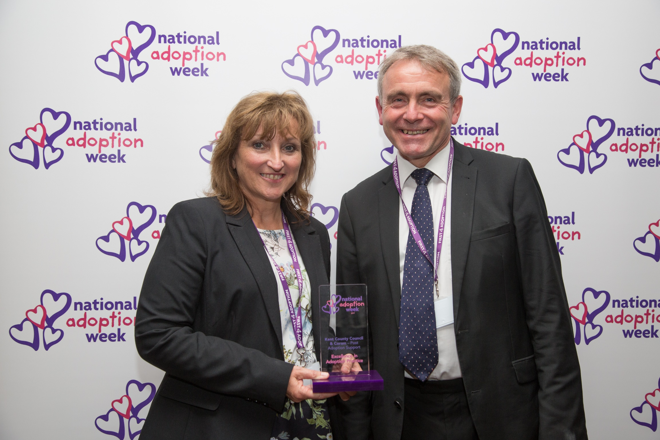 Kent council team wins prestigious award in national adoption week