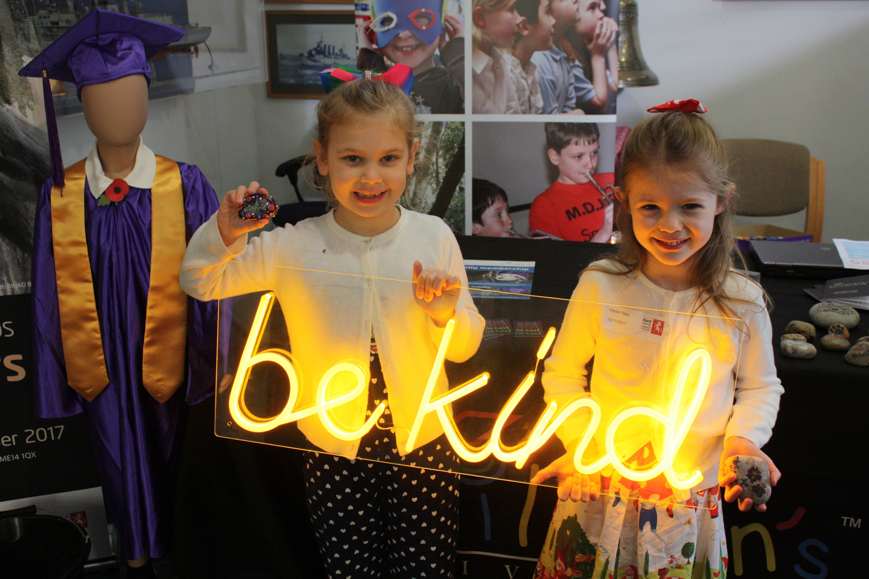 Kent Children's University one of 10 organisations in UK recognised on World Kindness Day