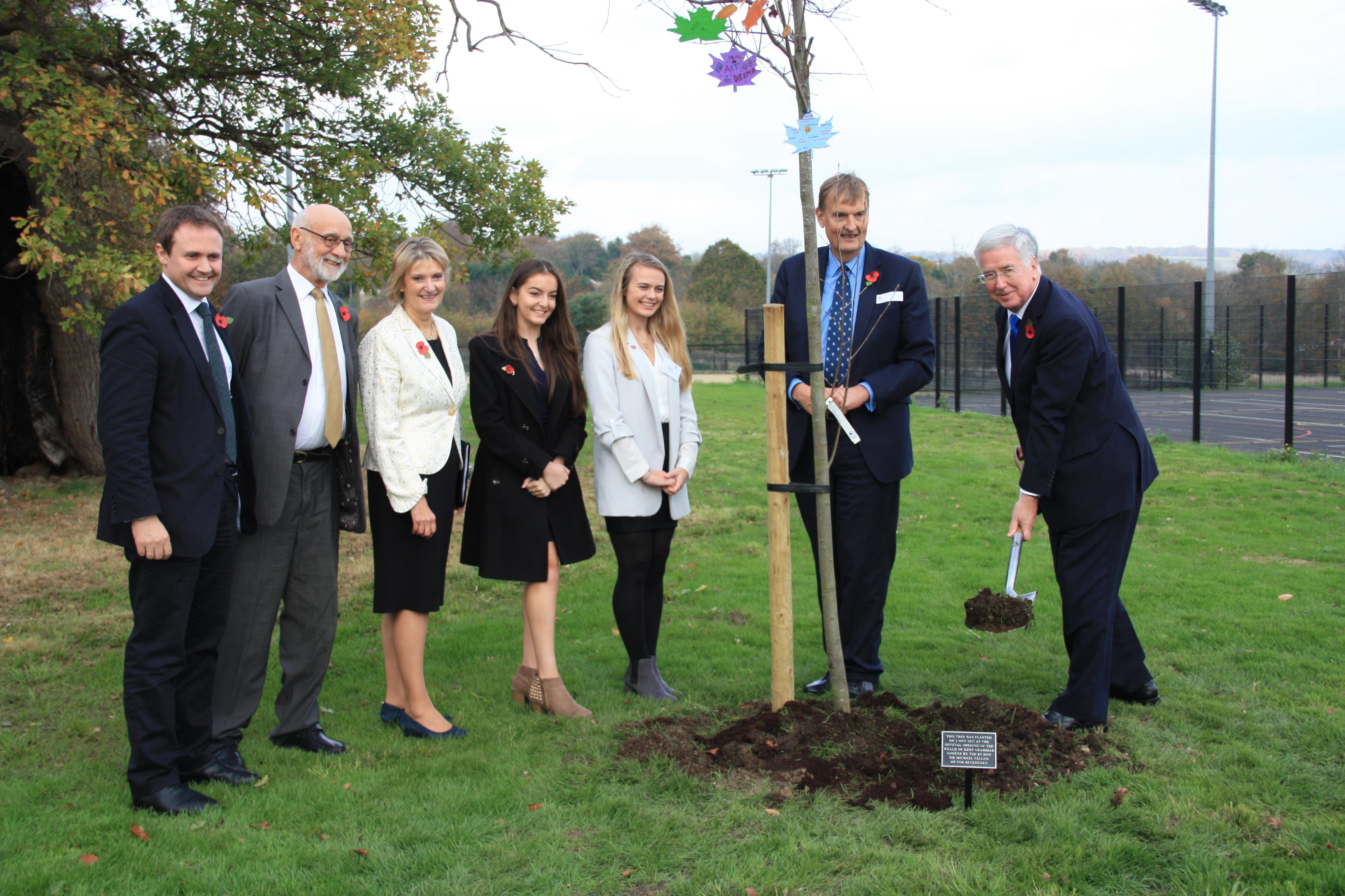 Weald of Kent Grammar School's Sevenoaks Annexe officially opened