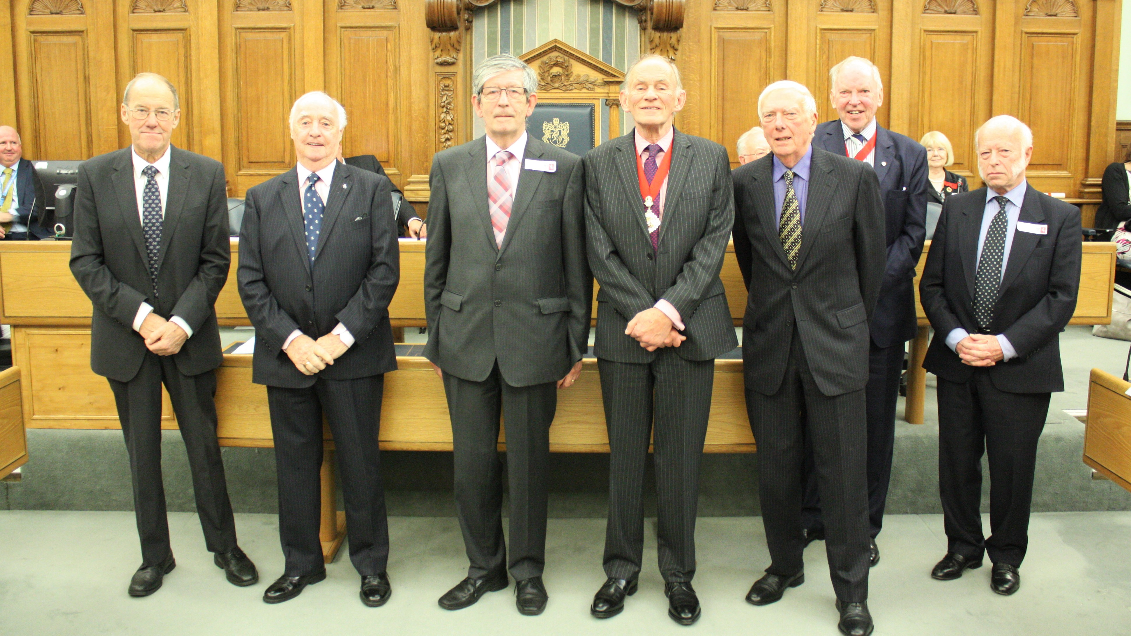 Seven former county councillors become Honorary Aldermen