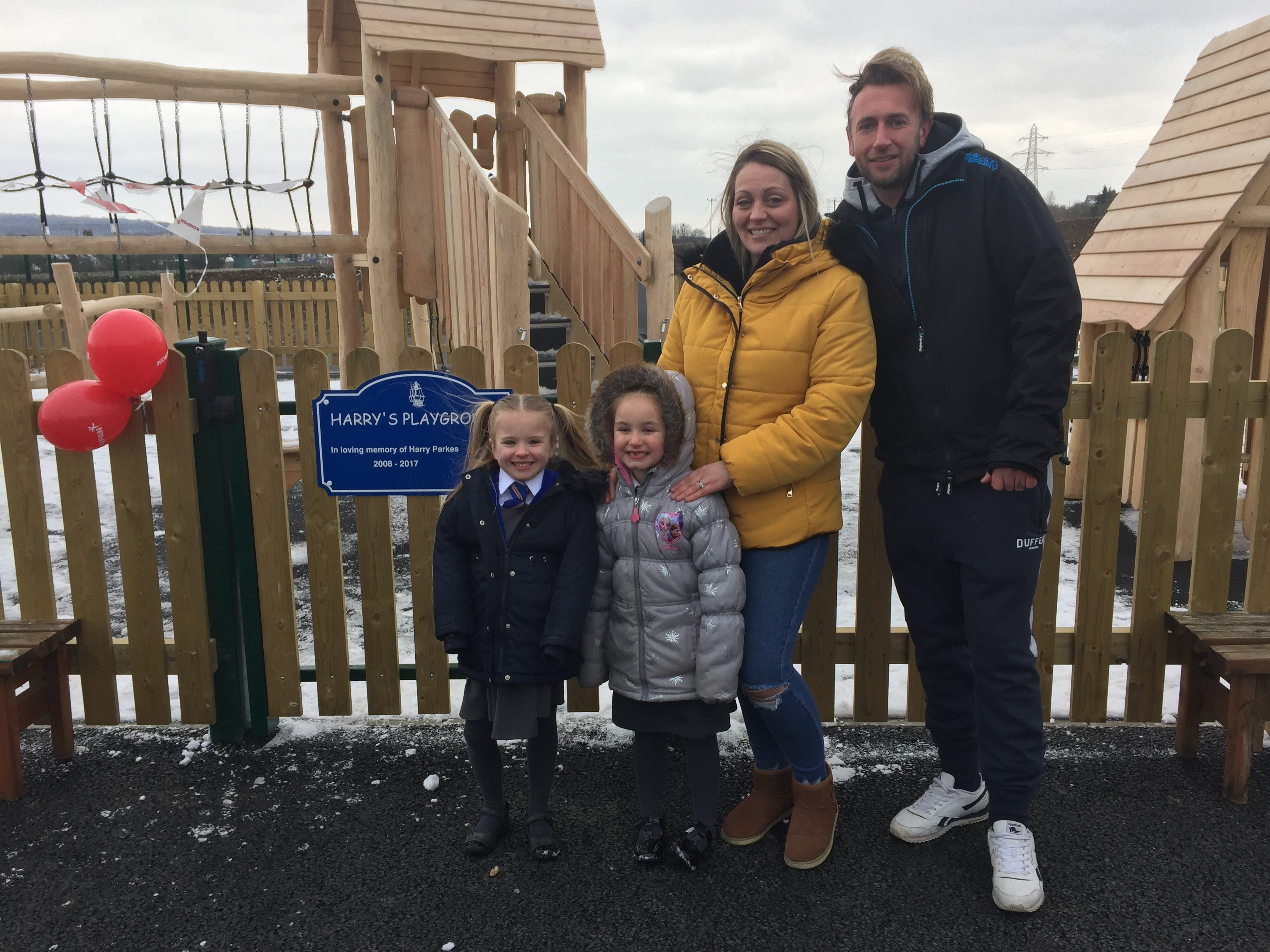 Playground dedicated to former pupil as new school buildings declared officially open