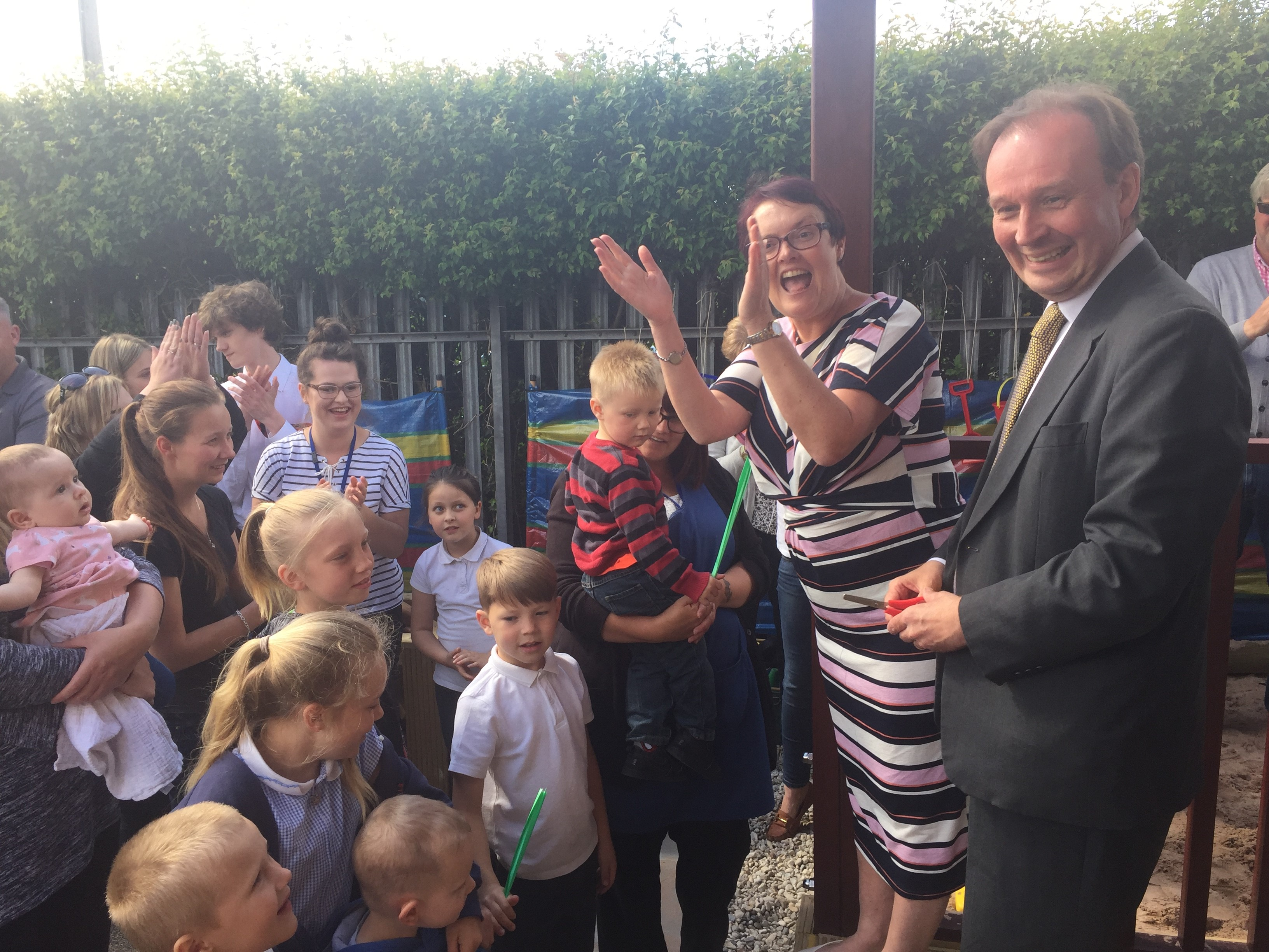 New eco-friendly building at Abacus Nursery and Childcare Limited in New Romney officially opened