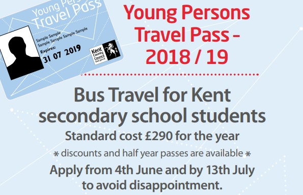 Young Person's Travel Pass price rise to offset fare increases - KCC