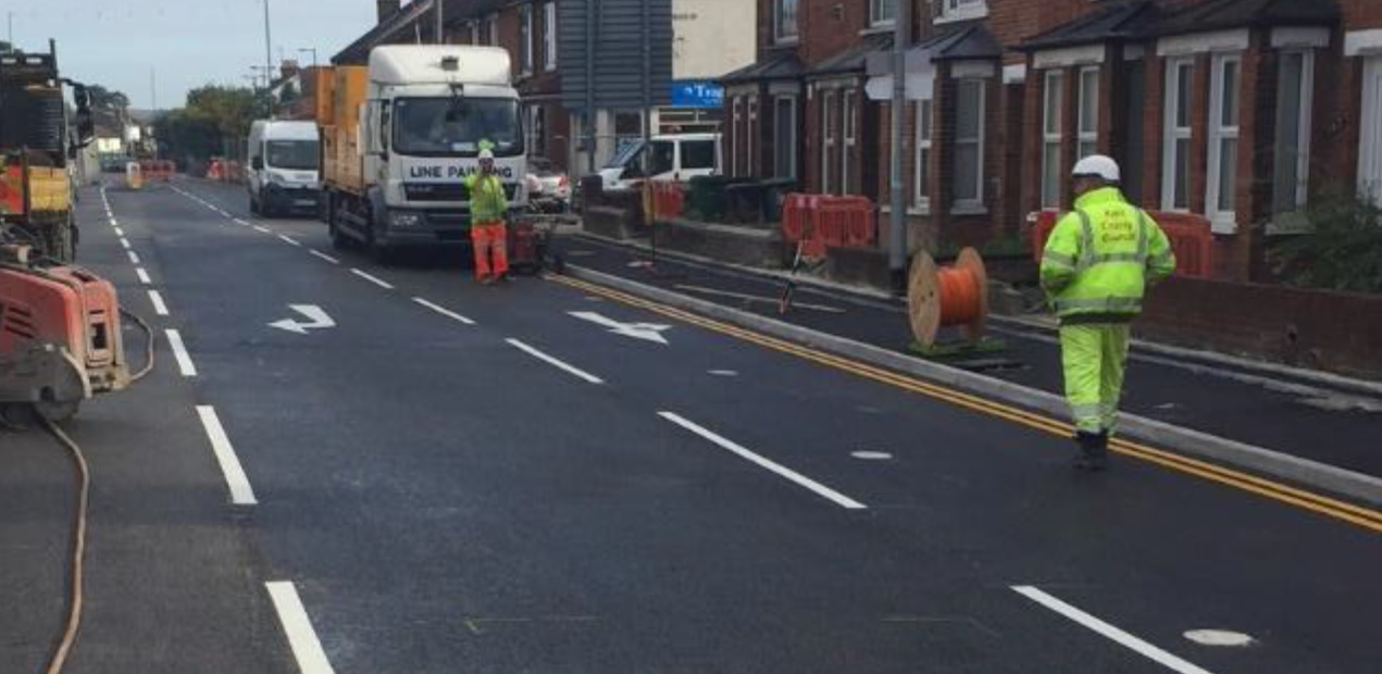 A26 Tonbridge Road, Maidstone reopens