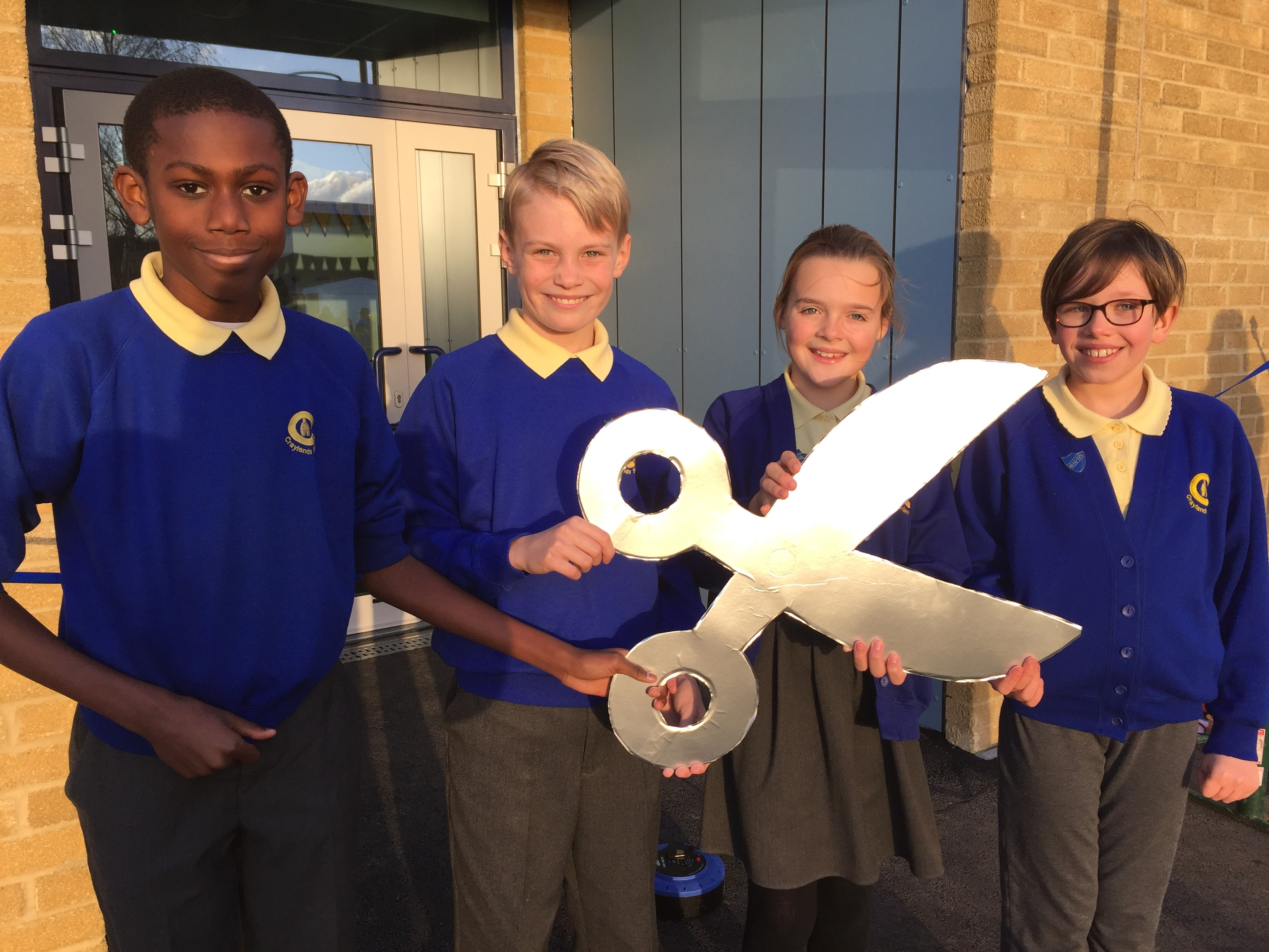 New school building and outdoor MUGA declared officially open