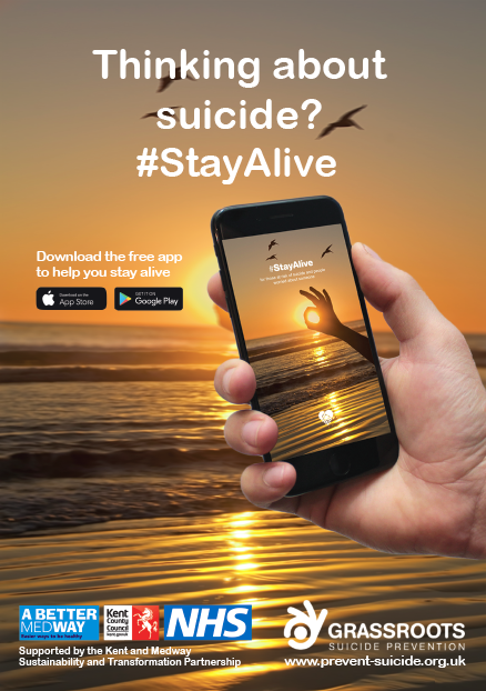 'Stay Alive' app helping people in Kent and Medway