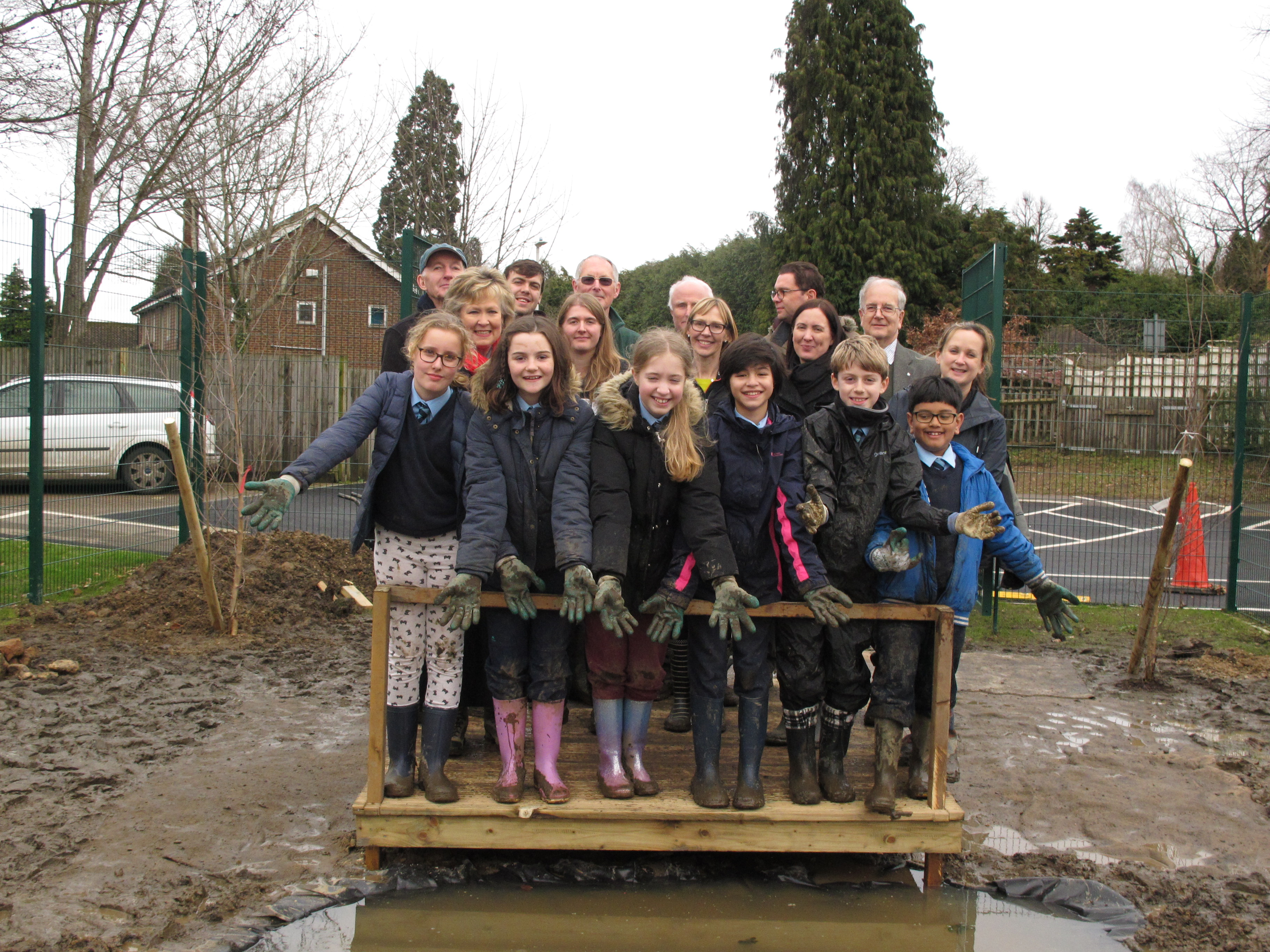 School children dip into Kent Year of Green Action