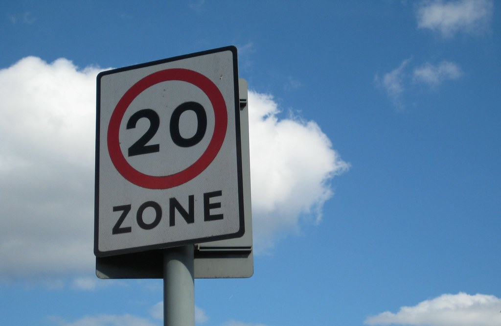 KCC is reviewing how and where it can implement 20mph schemes