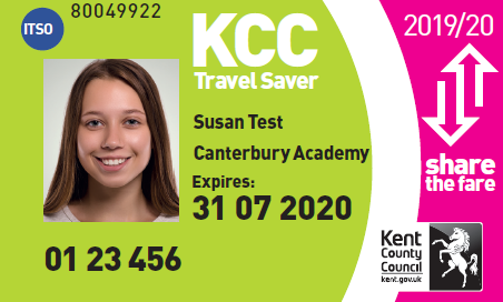 Kent Travel Saver update