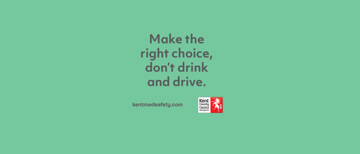 This summer, make the right choice, don't drink and drive