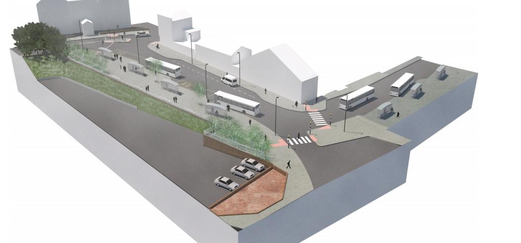 Plans for Gravesend bus hub