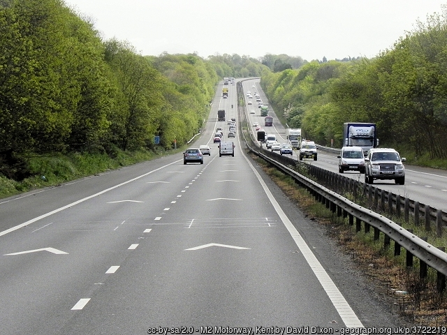 KCC works to minimise M2/A2 weekend disruption