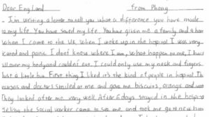 Foster child's heart-warming letter of thanks - KCC Media Hub